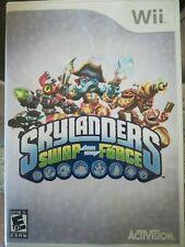 Skylanders Swap Force (Nintendo Wii ) Game & Box ONLY Disc