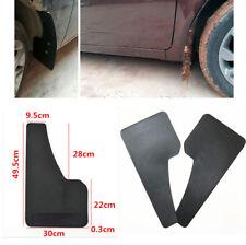 Pair Car Truck Plastic Mud Flaps Mud Guard Fender Carbon Fiber Look Front Rear