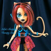 Monster High Toralei Stripe Fierce Rockers Hand Painted Accessories OOAK