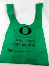 BAGGU Standard Reusable Beach Gym Bag Tote University of Oregon Green English