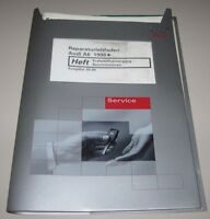 Werkstatthandbuch Audi A6 C5 Typ 4B + quattro Kraftstoffversorgung Benzin Motor