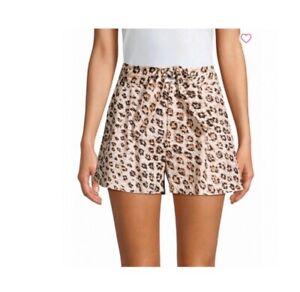 Joie Carden Leopard Print Shorts. Size 2. NWT. Retail- $250