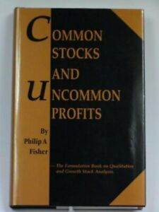 COMMON STOCKS AND UNCOMMON PROFITS By P. Fisher - Hardcover
