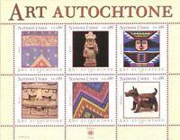 United Nations - Geneva #MiBl18 MNH M/S CV€8.50 2003 Indigenous Art [405]