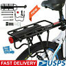 Portable Bicycle Mountain Bike Rear Rack Seat Post Mount Pannier Luggage Carrier