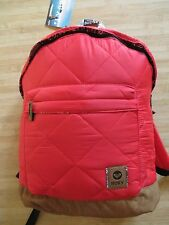 NEW ROXY BACKPACK BOOK SCHOOL STUDENT BAG Sugar Cane Red