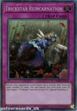 BLRR-EN105 Trickstar Reincarnation Secret Rare 1st Edition Mint YuGiOh Card