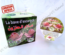 Bave d'Escargot Gel BIO 80ml 100% Bave d'Escargot Snail Slime, Caracol Bava