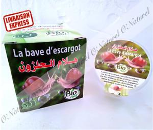Bave d'Escargot Gel BIO 80ml 100% Bave d'Escargot Snail Slime, Bava deCaracol