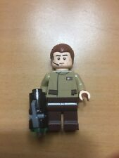 Lego Star Wars 75131 - Resistance Rebel Officer with Slick Hair & Gun