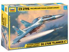 "Zvezda 7294 Russian Combat Trainer Aircraft SU-27UB ""FLANKER-C"" 1/72"