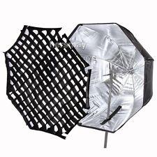 "80cm/32"" Octagon Umbrella Softbox + Honeycomb Grid For Flash Light Speedlite HOT"