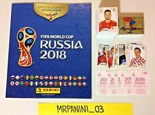 BAÑO RUSIA 2018 Panini -álbum+Conjunto Completo adhesivos-Stickers ROSA-ROSA