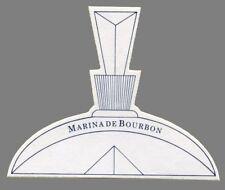 Carte  à parfumer - perfume card - Marina de Bourbon