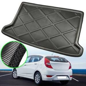 For Hyundai Accent 12-17 Hatch Boot Cargo Liner Rear Trunk Floor Mat Carpet Tray