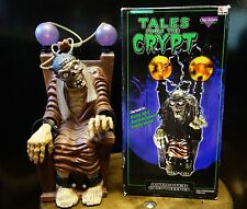 Vintage Tales Fron The Crypt Animated Cryptkeeper Electric Chair Halloween Prop