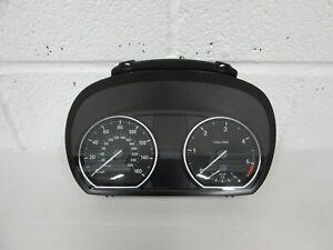 BMW E81 E82 E87 123D 2007 - 2012 MANUAL SPEEDO / DASH CLOCKS INSTRUMENT CLUSTER