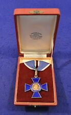 c.1940s CASED GRAND OFFICER ORDER OF BOYACA~COLUMBIA'S HIGHEST MILITARY MEDAL