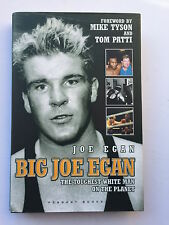 Big Joe Egan Hand Signed The Toughest White Man On The Planet.