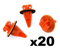 20x Toyota Prado Land Cruiser Side Moulding Wheel Arch Flare Plastic Trim Clips