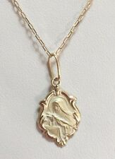 18k Gold St Rita Medal Necklace 19.68 in - 1.8 grams - Perfect Image