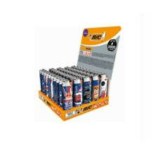More details for bic maxi flint union jack uk lighters tray of 50 lighters