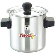 Milk Boiler Stainless Steel Milk Cooker with Boil Whistle 2 Litres Milk Boiler