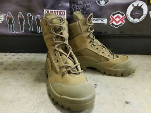Bates Military Combat Hiker Hot Weather Coyote Brown Boots E03612A size 5.5 Wide