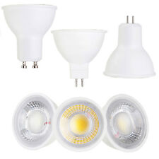 COB LED Spotlight GU10 MR16 GU5.3 Base 5W 7W AC 110V 220V DC 12V Light Bulbs