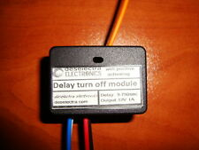 CAR DRL LED DELAY TURN OFF TIMER SWITCH 3 TO 750s 12V 1A BOX POSITIVE ACTIVATING