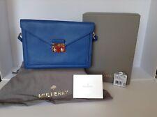 "Mulberry Brand New ""Kensal"" Bluebell Blue Small Shoulder/Crossbody Handbag"