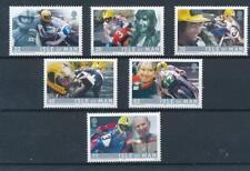 [316276] Isle of Man 2001 Moto Race good set of stamps very fine MNH