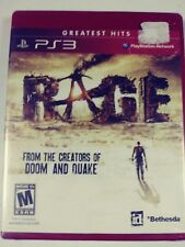 Rage Anarchy Edition Sony PlayStation 3, 2011 Brand New FACTORY SEALED RED CASE