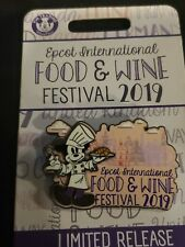 New listing Disney Epcot Food and Wine Festival 2019 Limited Ed Chef Mickey Mouse Logo Pin