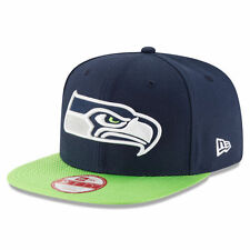 Seattle Seahawks NFL New Era On field Sideline Draft Men Snapback 9FIFTY Cap Hat