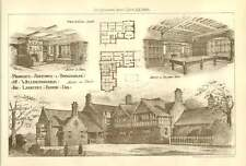 1900 Proposed Additions To Broadholme Wellingborough For Laurence Round