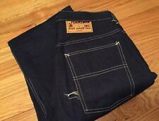 Vintage Sanforized PLAINSMAN Best & Co. Carpenter Workwear Blue Jeans. Pants.