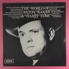 The World Of Anton Karas & Harry Lime - Decca SPA-118 Ex+ Condition Vinyl LP