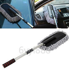 1x Car Cleaning Wash Brush Dusting Tool Automotive Microfiber Telescoping Duster
