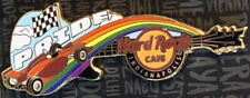 Hard Rock Cafe INDIANAPOLIS 2018 GAY PRIDE PIN Indy 500 Race Car Rainbow #99651