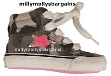 New Baby Girls Brown & Pink NEXT Trainers Size 5 Infant RRP £20