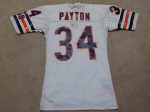 Walter Payton Vintage Game Jersey Chicago Bears HOF