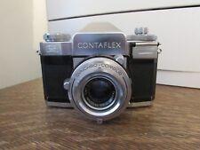Vintage Zeiss Ikon 35mm Contaflex Carl Zeiss Nr 1665381 Tessar f 1:2,8 50mm Lens