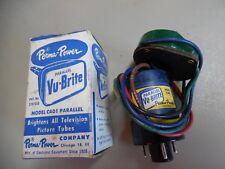 NOS 1950's Perma Power VU-BRITE Picture TV Tube brightener C401 PARALLEL Chicago