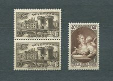 FRANCE - 1939 YT 445 à 446 - TIMBRES NEUFS** MNH LUXE