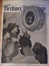 """NBI 12/1949 Weltenuhr Papyrologie Etterwinden Was kostet die """"US-Hilfe"""" Künstler"""