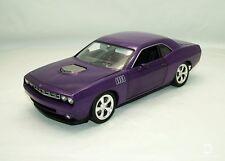 Highway 61 1/18 Concept Cuda Plum Crazy Plymouth Diecast Model Purple 1:18 50839