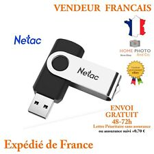 Clé USB 8 16 32 64 128 GB 3.0 Netac