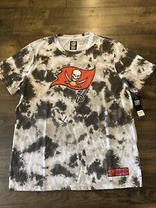 NWT Men's 2021 Tampa Bay Buccaneers NFL Team Apparel Tye Dye T-Shirt 2XL XXL