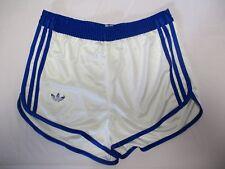 94c57c7e5461d Short ADIDAS vintage nylon blanc VENTEX France années 80 sport collection L
